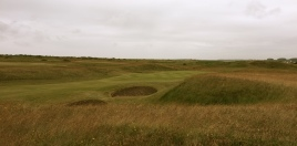 The view of the 5th green from the right-hand rough.