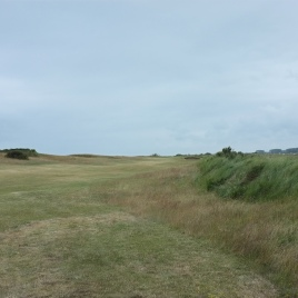 The view from the right-hand side of the 7th fairway near the first landing area.