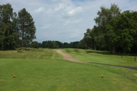 The view from the 1st tee.