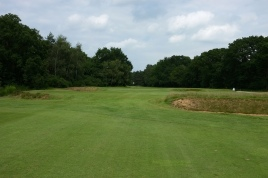 The view from the 1st fairway.