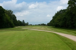 The view from the 2nd tee.