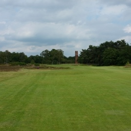 The view from the left-hand side of the 3rd fairway.