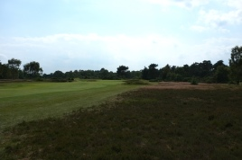 The view from the right-hand rough on the 4th hole.