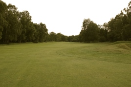 The view from the 14th fairway at the first landing area.