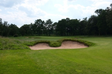 The view from the left-hand side of the 7th fairway.