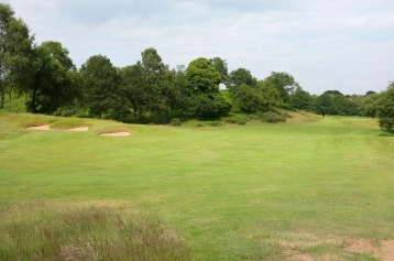The view from the start of the 10th fairway.