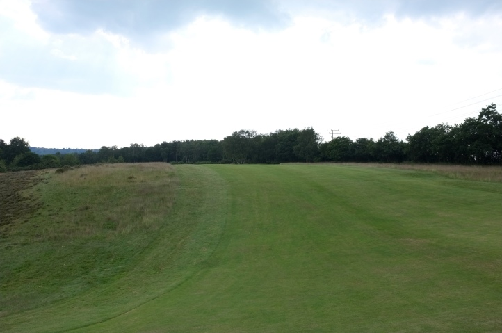The view from the crest of the first ridge on the 12th fairway.