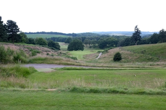 The view from the 13th tee.