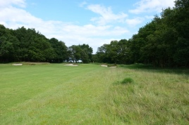 The view from the right-hand side of the 2nd fairway.