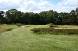 The view of the approach to the 7th green.