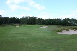 The view of the approach to the 8th green.