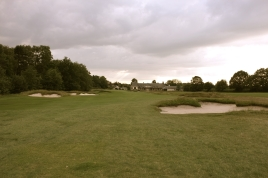 The view from the start of the 18th fairway.