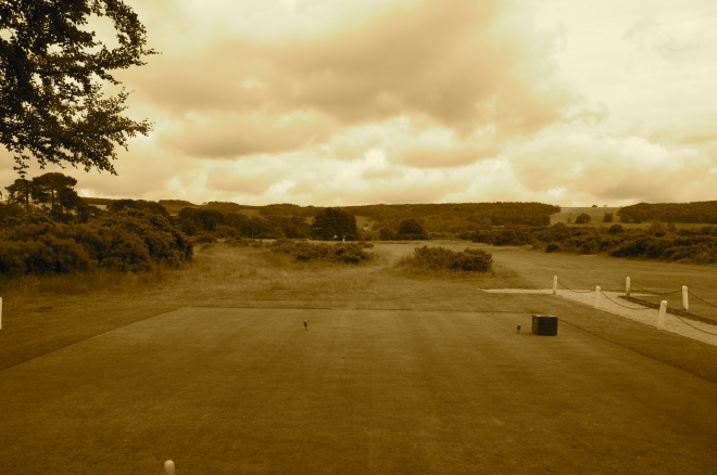 Gorse to the left- right and directly in front at the opening tee give you a taste of what lies ahead should your driving be wayward...