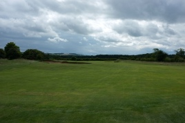 The view from the start of the 3rd fairway.