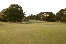 The view from the 16th fairway - from just in front of the cross bunker shown in the previous image.
