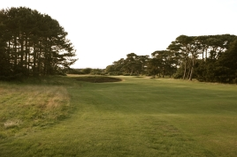 The view from the left-hand side of the 16th fairway.